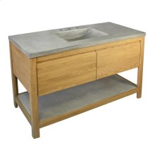 Solace Vanity in Sunrise Oak