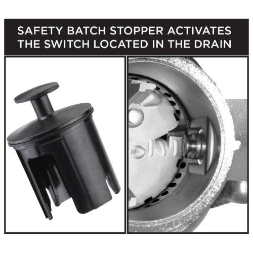 3/4 HP Twist Lock Mount, Batch Feed Disposal