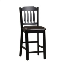 Slat Back Counter Chair