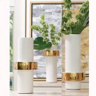 Gold Ring Vase-High Product Image