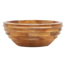 Manza Above Counter Basin - Teak