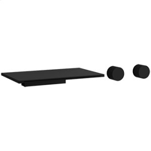 3-Hole Wall Mount Tub Filler - Black Product Image