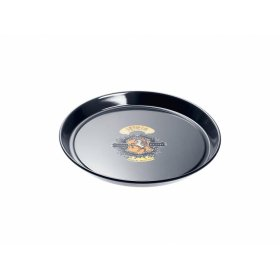 HBFL 27-1 Round baking tray - Nostalgic logo with PerfectClean finish.