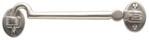 General hardware, Silent cabin hook with a Bright Chrome finish Product Image