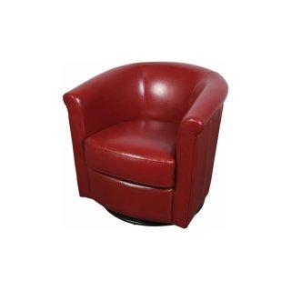 Marvel Swivel Chair Red
