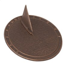 Day Sailor Sundial - French Bronze