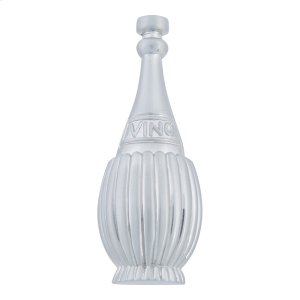 Chianti Bottle Knob 3 Inch - Brushed Nickel Product Image