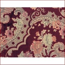 Fabric Art. 160 Lame Col.Rosso