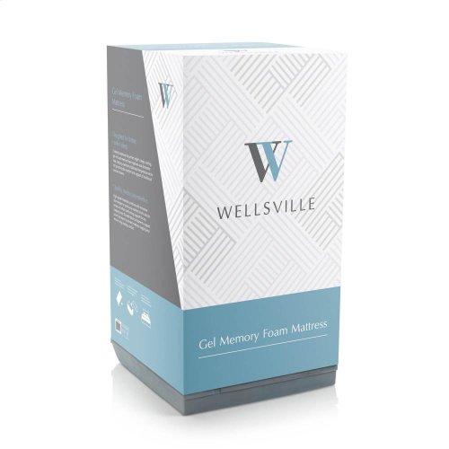 """Wellsville 8"""" Gel Foam Mattress - King"""