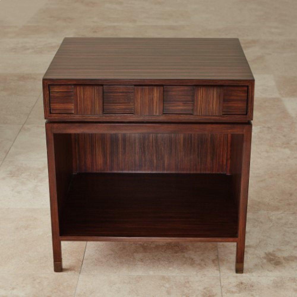 Quad Block Bedside Table