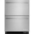 "24"" Refrigerator/Freezer Drawers, Euro-Style Stainless Handle Product Image"