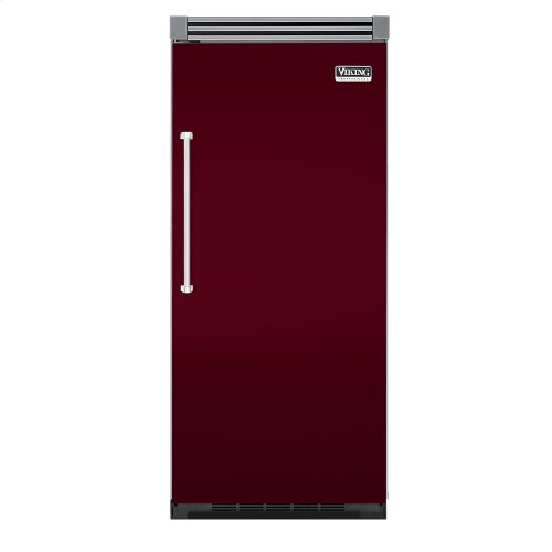 "Burgundy 36"" Quiet Cool™ All Freezer - VIFB Tru-Flush™ (Right Hinge Door)"