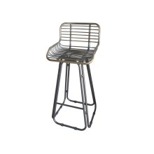 "Emerald Home D102-30 Laurell Hill 30"" Bar Stool, Patina Gray"