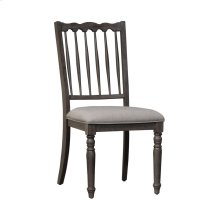 Spindle Back Uph Side Chair (RTA)