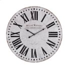 Aged-White Wall Clock Product Image