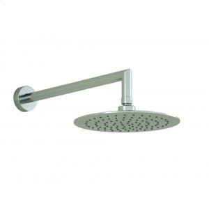 Round Shower Head With Vertical or Wall Arm - Chrome Product Image