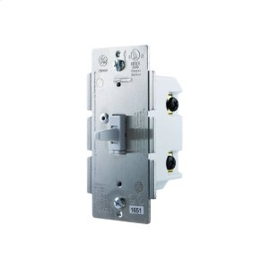 GE In-Wall Toggle Dimmer (for Works with Ring Alarm Security System) - White Product Image
