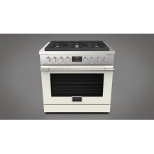 "36"" All Gas Range - Matte White"