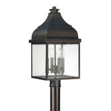 4 Light Outdoor Post Lantern