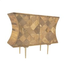 Wood Marquetry Cabinet, Kd