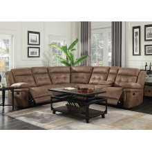 """Anastasia Right Arm Loveseat w/ Console&1 Recliner,76""""x40""""x42.5"""