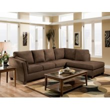 Glacier Coffee LSF Sofa