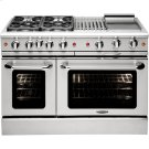 "48"" Gas Convection Range with 4 Seal Burners 19K BTU + 12"" BBQ & Griddle Product Image"