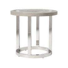 Wyatt Round End Table