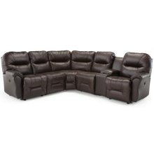BODIE SECT. Leather Reclining Sectional