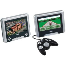 Dual Screens Portable DVD Player - DRC630