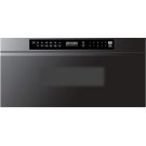"""Modernist 30"""" Microwave-In-A-Drawer, Graphite Product Image"""