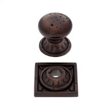 "Old World Bronze 1-3/8"" Pompeii Mushroom Knob"