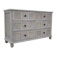 Bay Breeze Six Drawer Dresser