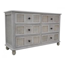 Bay Breeze Six Drawer Dresser