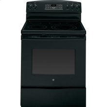"""GE® 30"""" Free-Standing Electric Range (This is a Stock Photo, actual unit (s) appearance may contain cosmetic blemishes. Please call store if you would like actual pictures). This unit carries our 6 month warranty, MANUFACTURER WARRANTY and REBATE NOT VALID with this item. ISI 33853"""