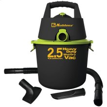 2.5-Gallon Wet/Dry Vacuum