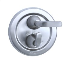 Stone Mountain - Thermostatic Control Valve Trim - Polished Chrome