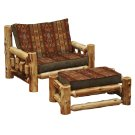 Chair and a Half - Natural Cedar - Standard Fabric Product Image
