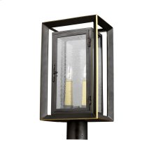 2 - Light Outdoor Post Lantern