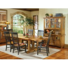 Rustic Mission Dining Room Furniture