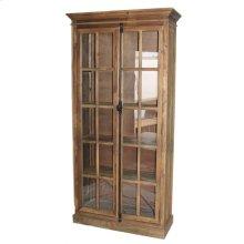 Pine 2 Door Bookcase