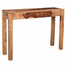 Idris Console Table in Dark Sheesham