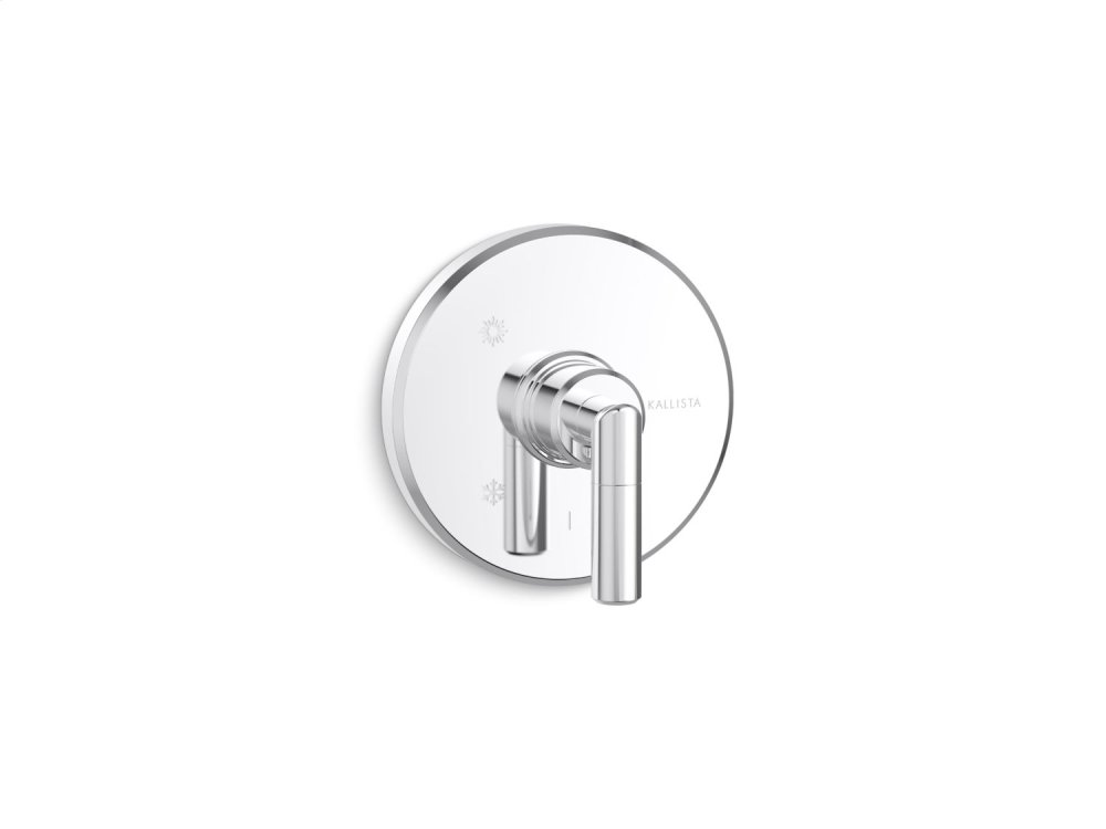 Pressure Balance Trim, Lever Handle - Chrome