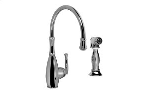 Duxbury Kitchen Faucet w/ Side Spray Product Image