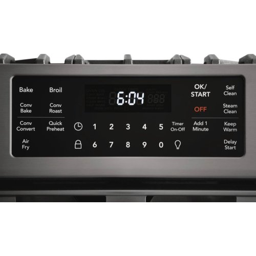 30'' Front Control Gas Range
