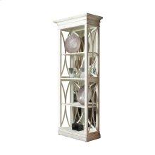 Corona Bookcase With Mirrored Back