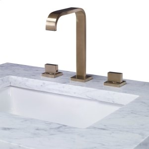 Satin Brass Faucet Product Image