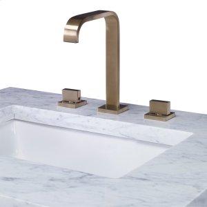 Satin Brass Faucet Product Image