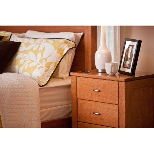 Justine Nightstand with Drawers