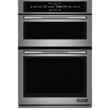 """30"""" Microwave/Wall Oven with V2™ Vertical Dual-Fan Convection System, Pro-Style® Stainless Handle"""